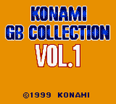 Konami GB Collection Vol.1